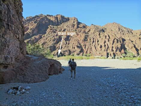 Map Of Arizona Hot Springs.Hiking Around Las Vegas Lake Mead Nra Arizona Hot Springs